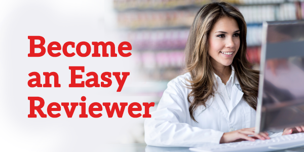 Become an Easy Reviewer
